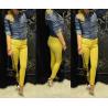 Szuper sztreccs, sárga nadrág