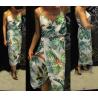 Pálma mintás ruha
