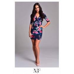 X-Factory virág mintás poly ruha