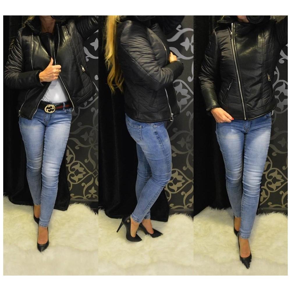 Fekete steppelt kabát (ki-be fordítható) 33fa739ac8