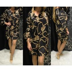 Kígyó mintás ruha