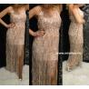 Olasz flitteres maxi ruha