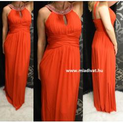 Olasz piros maxi ruha