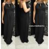 Olasz fekete maxi ruha