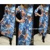 Pálma mintás maxi ruha