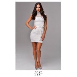 X-Factory fehér csipke ruha
