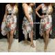 Olasz virág mintás ruha