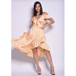 Olasz mogyorószínű ruha