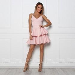 Envy rózsaszín csipkeruha
