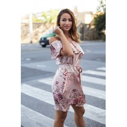 Anna Russo virágmintás ruha