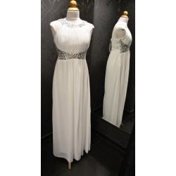 Fehér színű maxi ruha