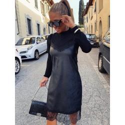 Olasz bőr ruha