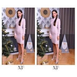 X-Factory rózsaszín ruha