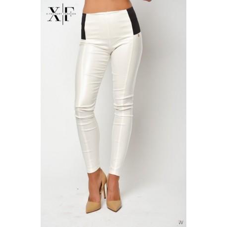 X-Factory bőrhatású nadrág