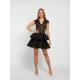 Envy fekete csipke ruha