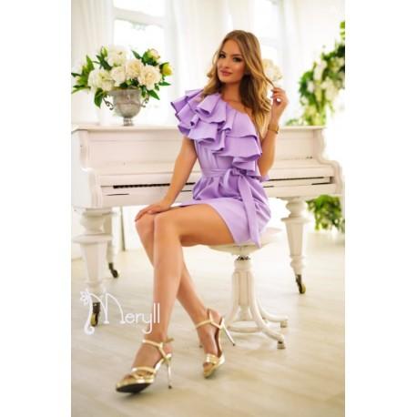 Meryll lila színű ruha