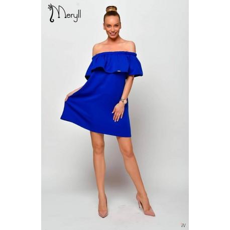 Meryll kék színű ruha
