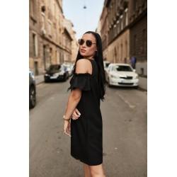 Anna Russo fekete ruha