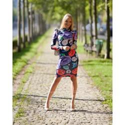Envy pipacs mintás ruha