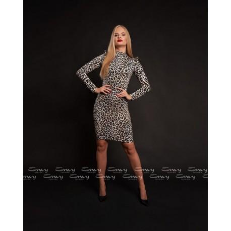 Envy párduc mintás ruha