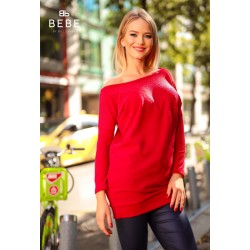Bebe piros pulóver