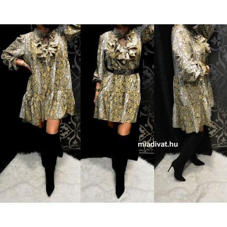 Meryll kígyó mintás ruha