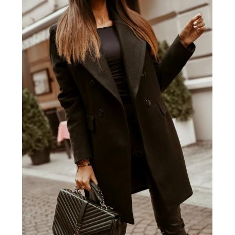 O'la Voga fekete színű kabát