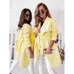Sárga színű kabát