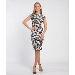 Envy zebra mintás ruha