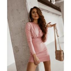 O'la Voga rózsaszín ruha