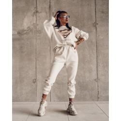 O'la Voga fehér melegítő garnitúra /felső+nadrág/