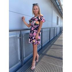 Robrow virág mintás ruha