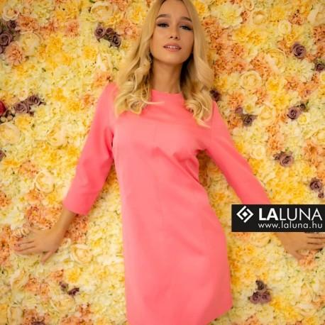 LaLuna rózsaszín ruha