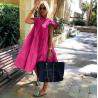 Pink fodros ruha