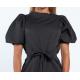 Envy puffos ujjú fekete ruha