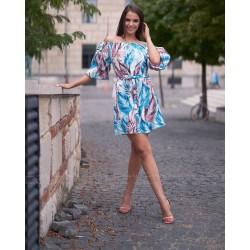 Envy mintás ruha