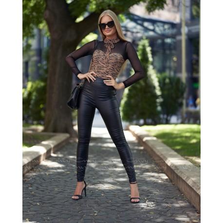Envy alakformáló bőrhatású nadrág
